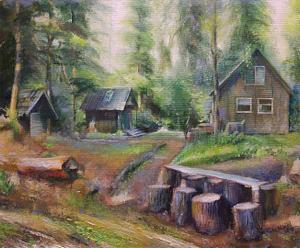 Naomi landscape oil portrait img_7