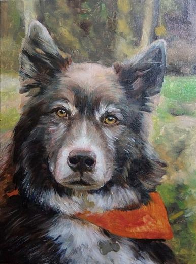 Laura dog portrait img_4