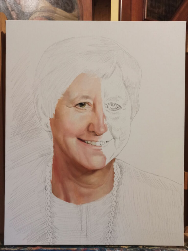 Elizabeth custom oil portrait img_10