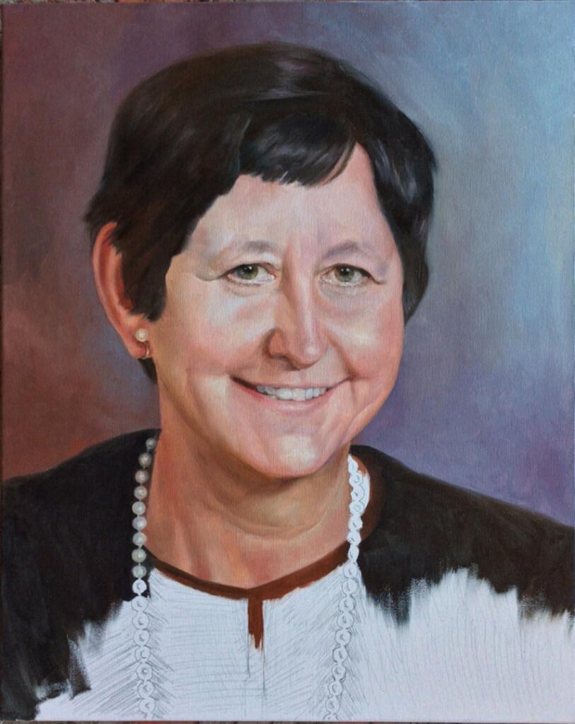 Elizabeth custom oil portrait img_11
