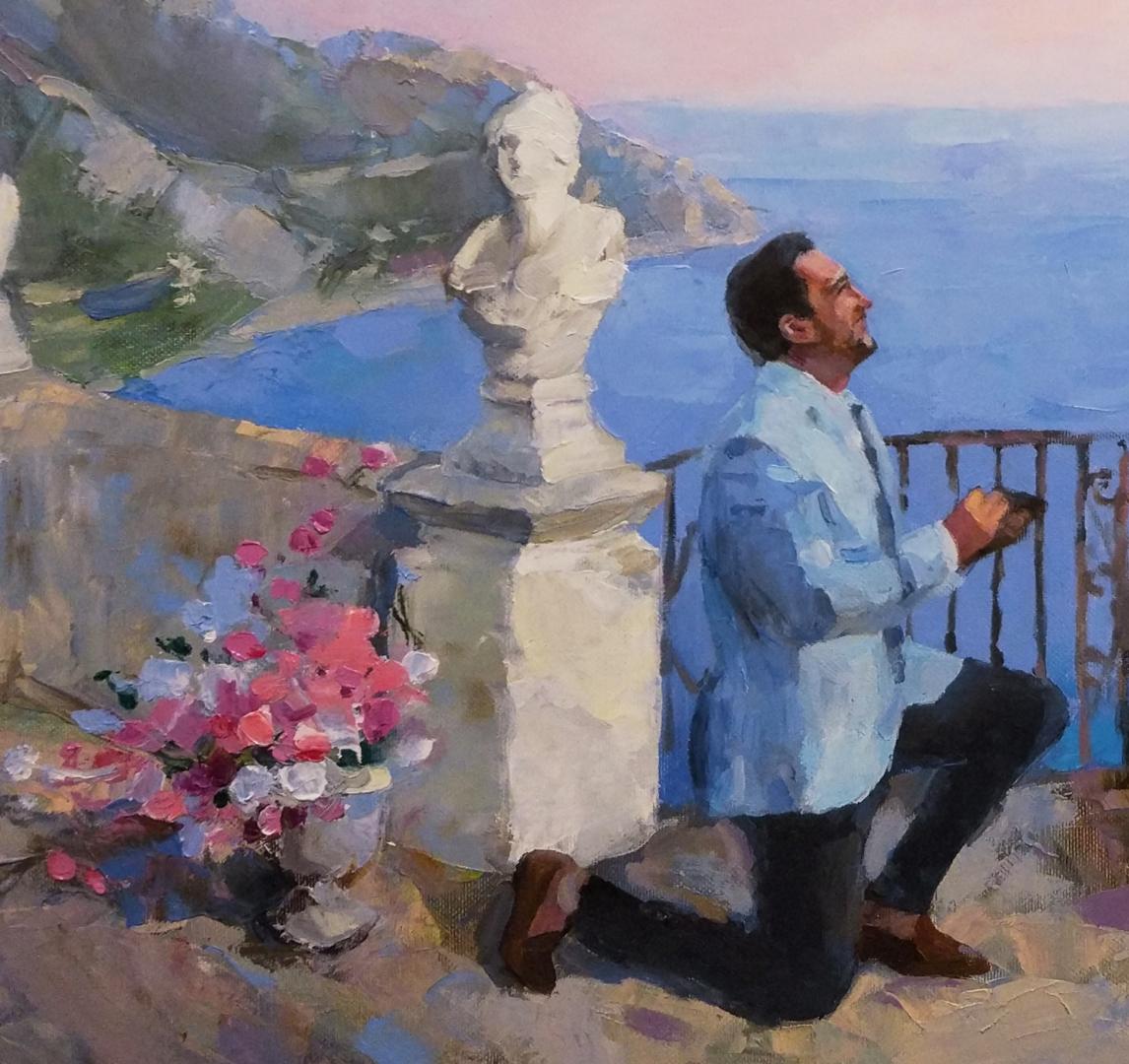 Italian love custom portrait img_5