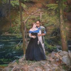 Elly oil wedding portrait img_10