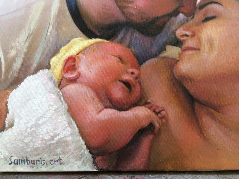 Alex Jamieson Custom family portrait img_3