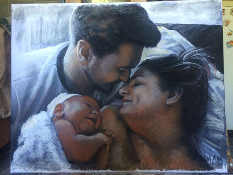 Alex Jamieson Custom family portrait img_6