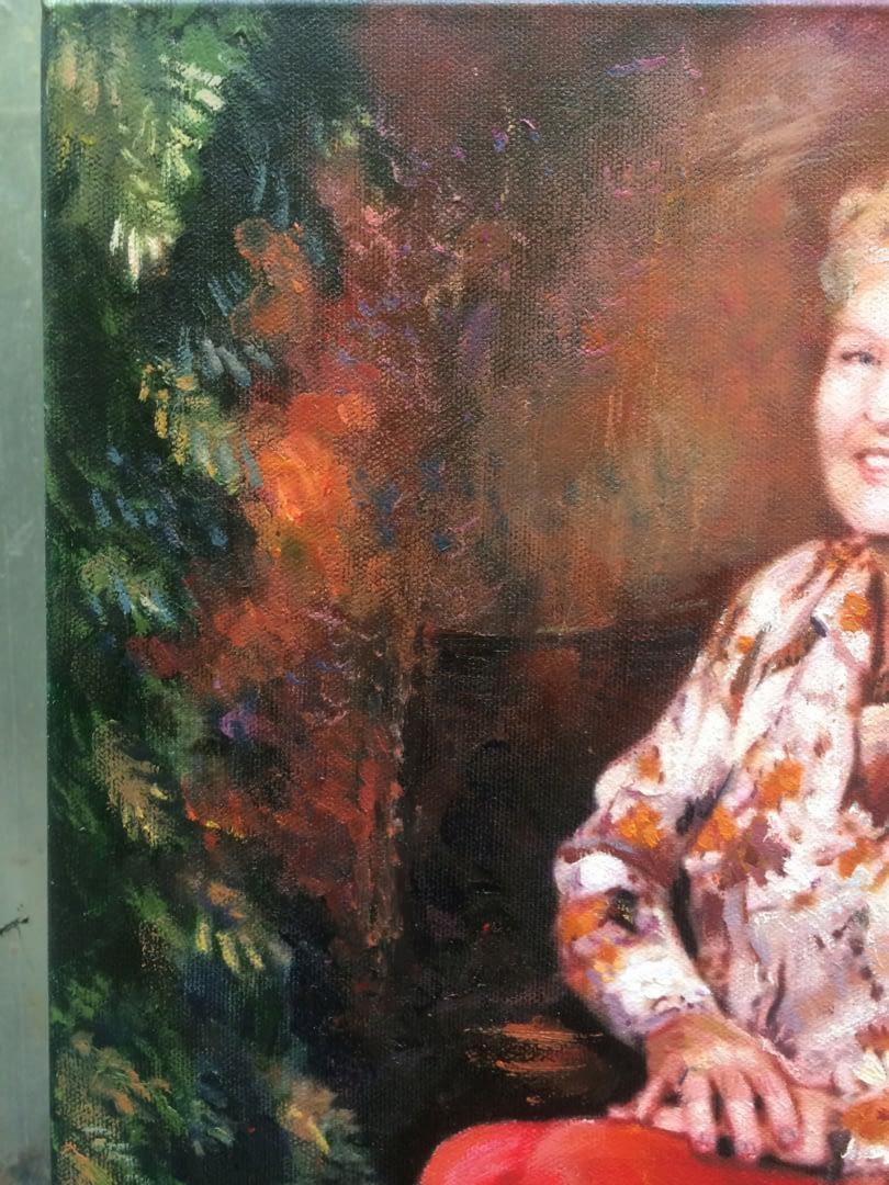 Brandie Garrett paintings from old photo img_2