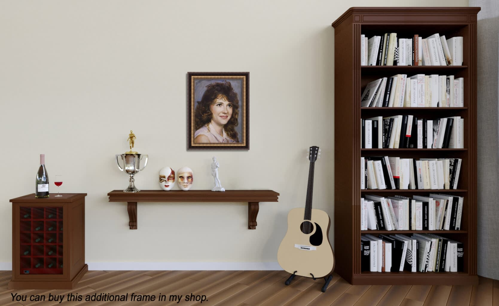 Carolie custom oil portrait img_7