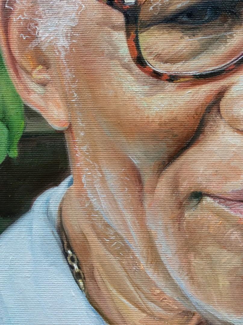 Cecilia Clarke Male portrait painting img_3