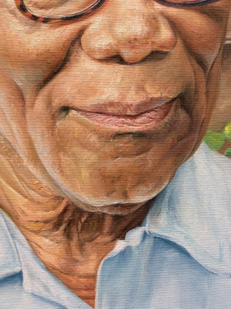 Cecilia Clarke Male portrait painting img_5
