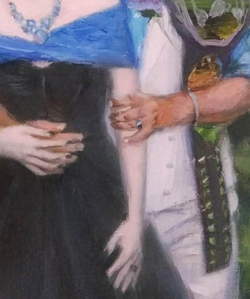 Elly oil wedding portrait img_5