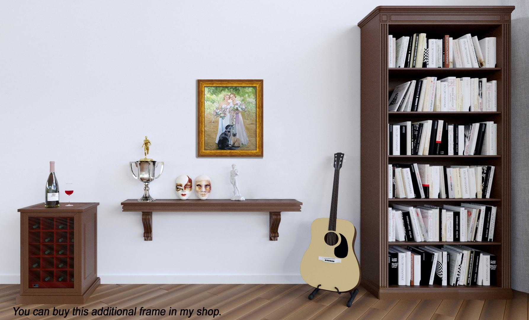 Flo custom oil portrait img_12