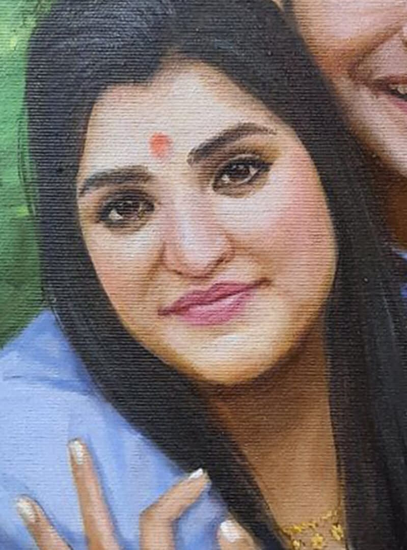 Hormazd Patel (Teja) custom painting img_1