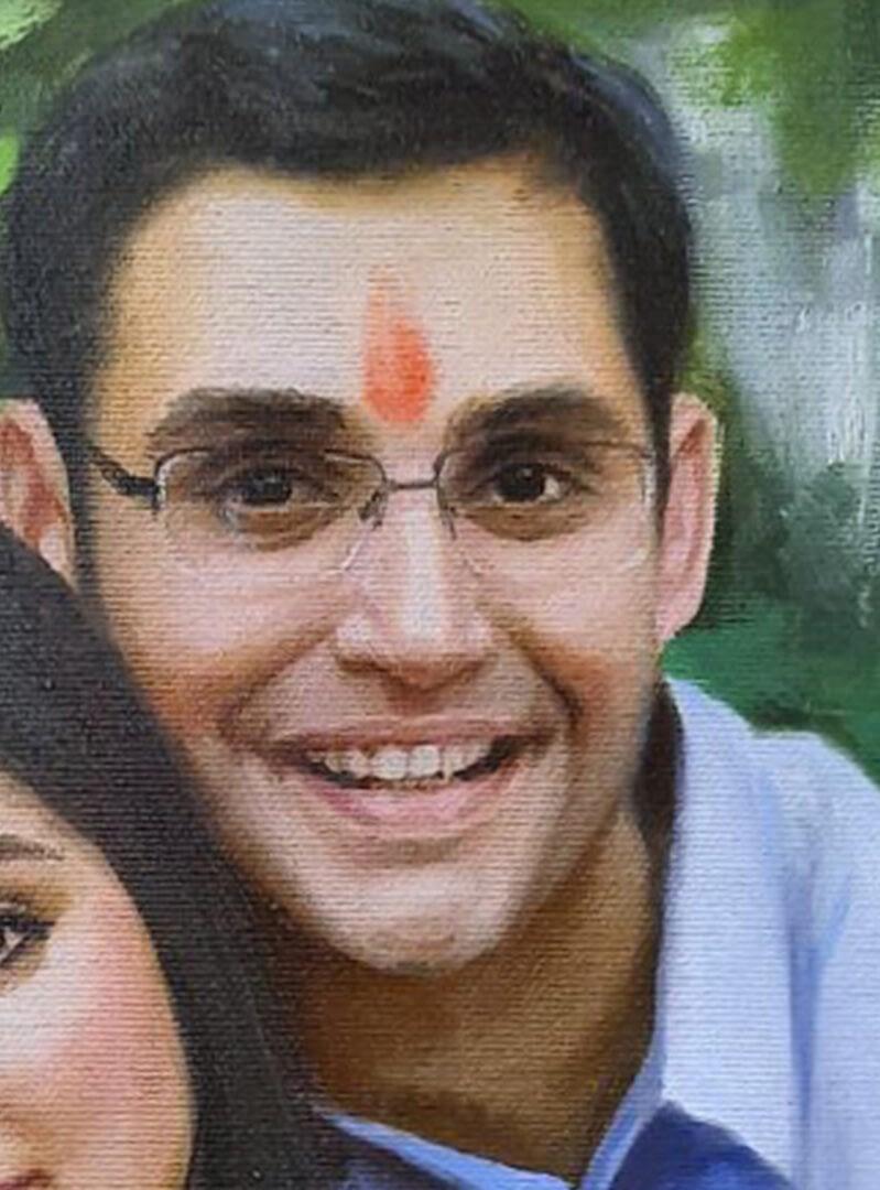 Hormazd Patel (Teja) custom painting img_2
