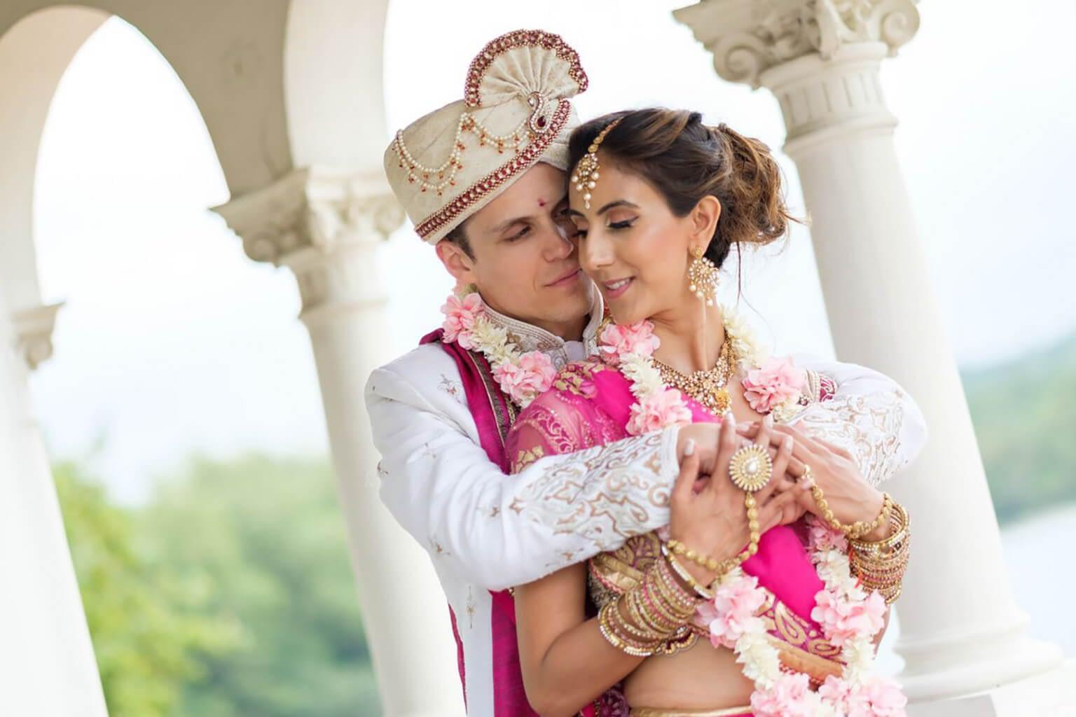 Indian family oil wedding portrait img_8