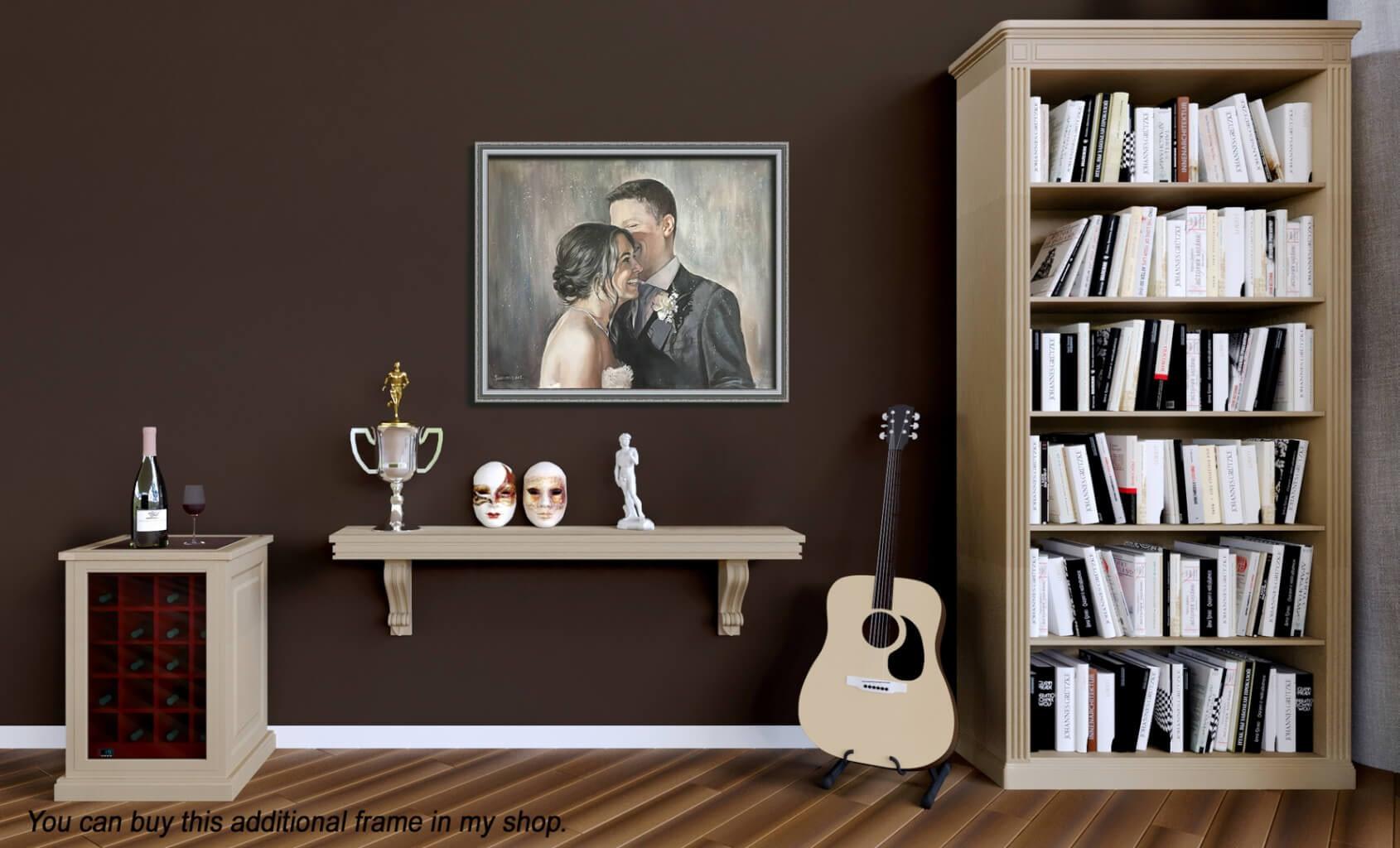 Joseph Schiazza oil wedding portrait img_6