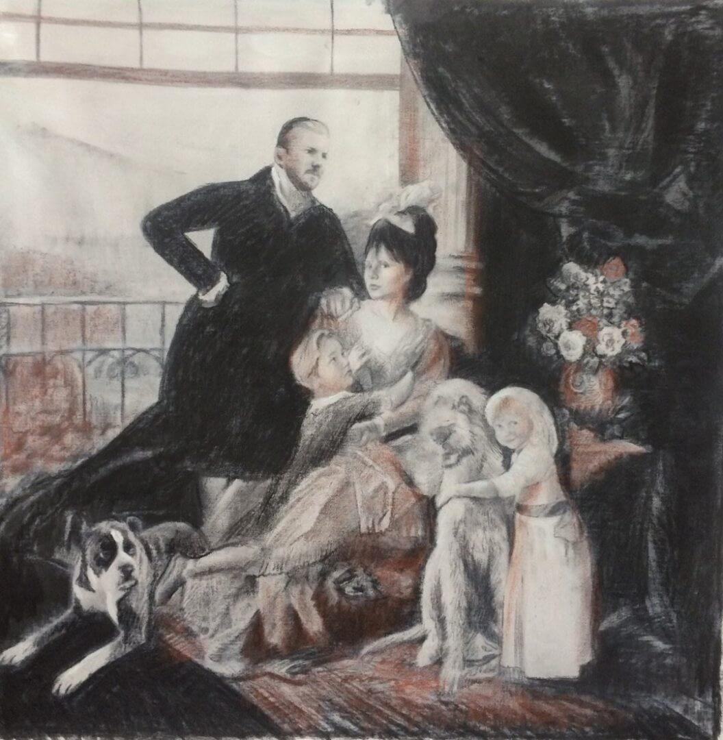 Katarina Oswald custom family portrait img_19