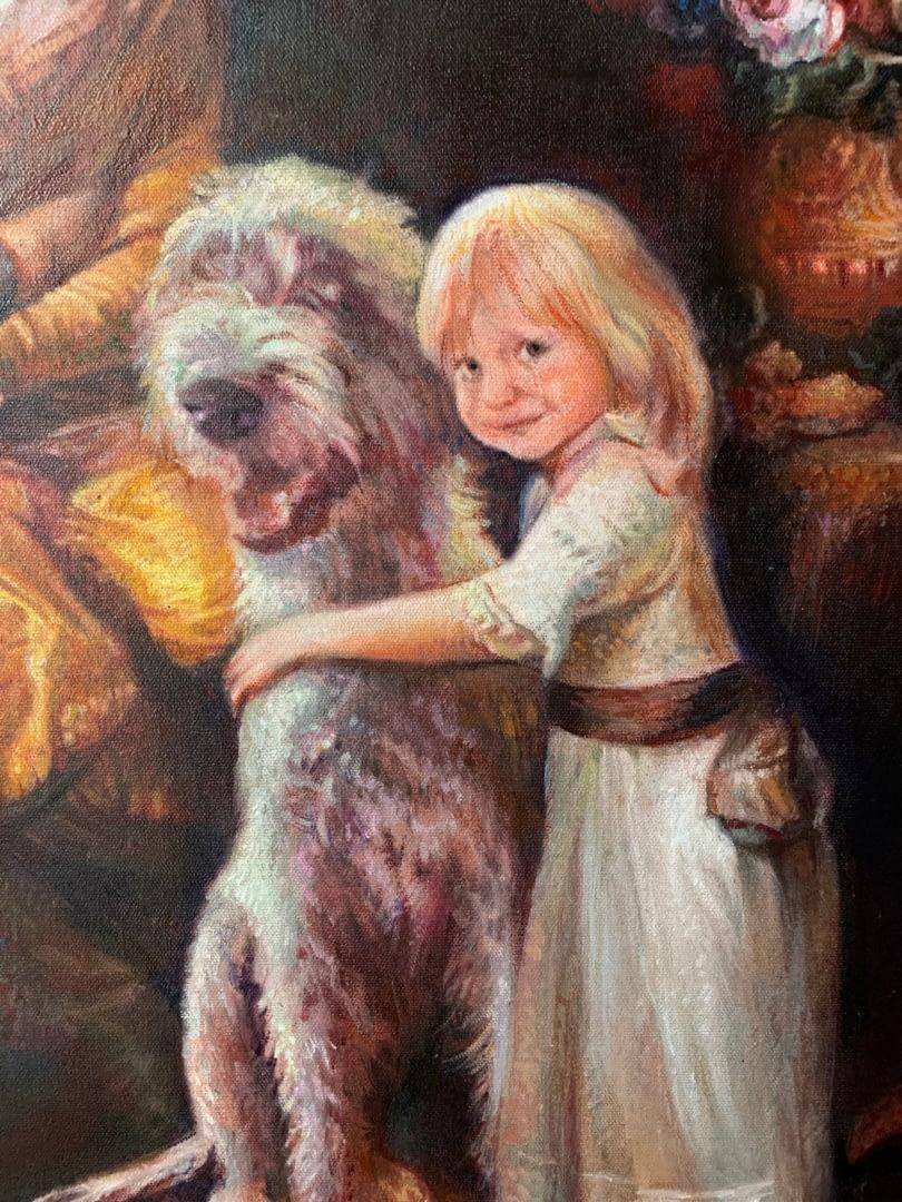 Katarina Oswald custom family portrait img_2