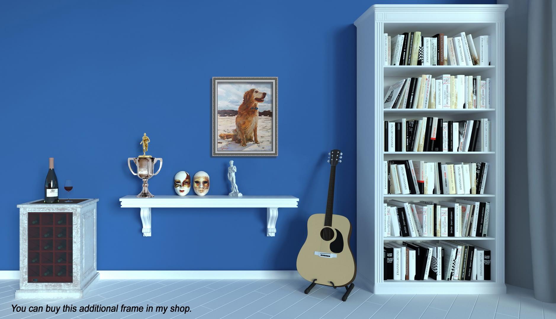 Robin dog portrait img_3