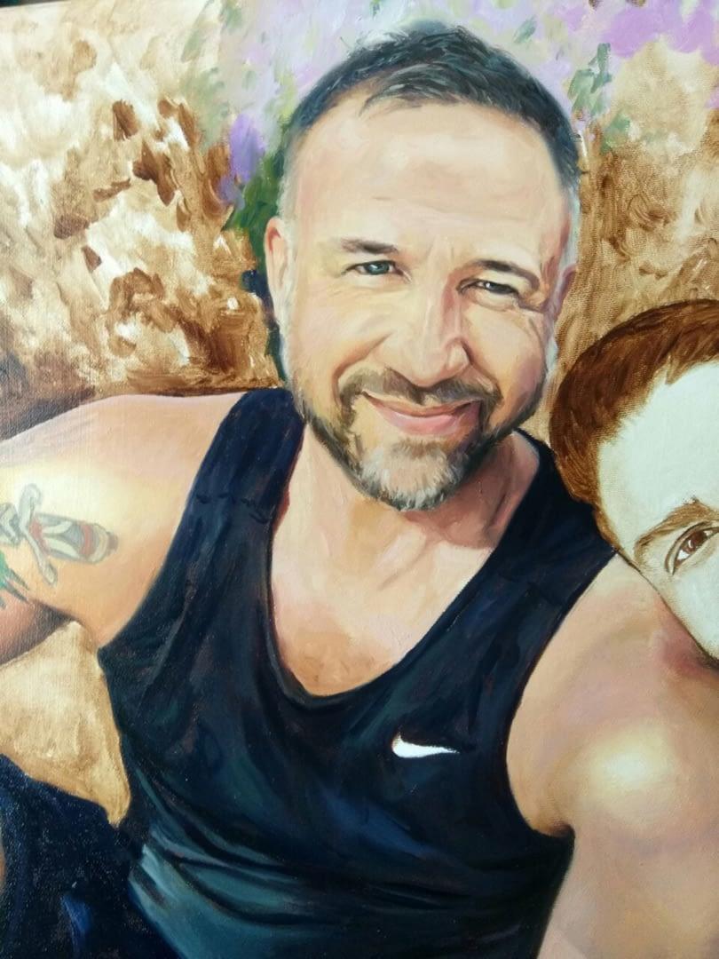 Ronald custom oil portrait img_13