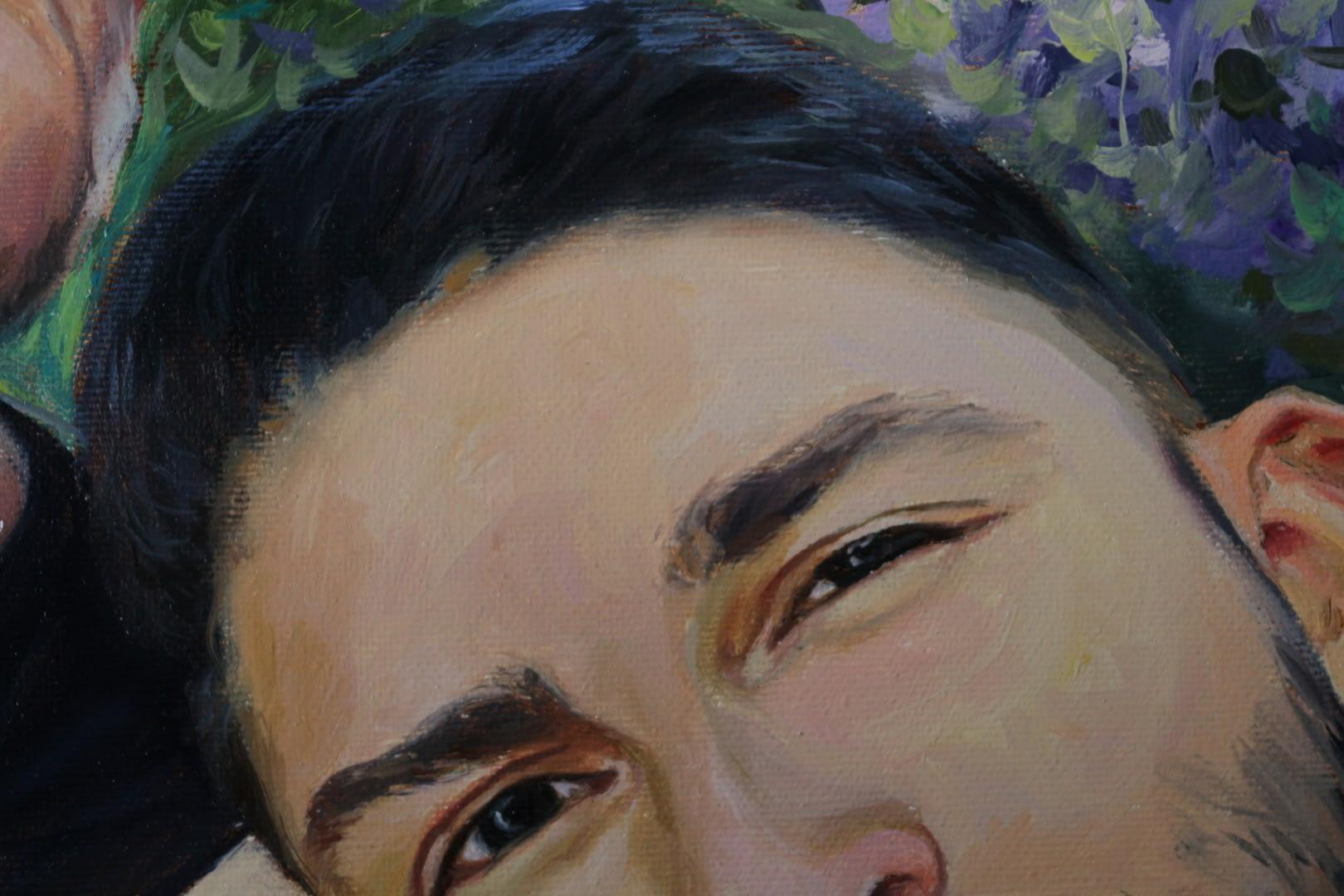 Ronald custom oil portrait img_5