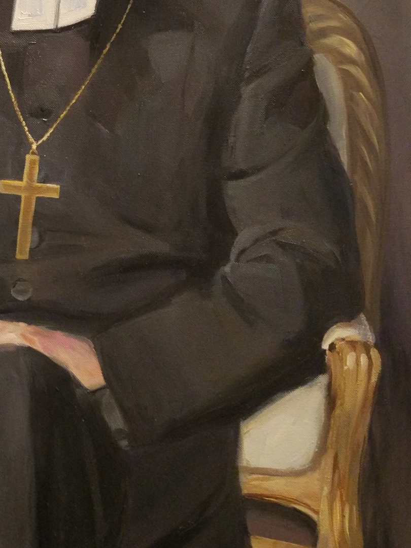 Bishop custom oil portrait img_6