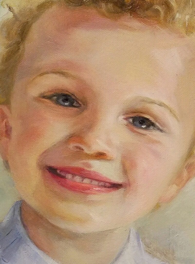 Boy 2 kids portrait custom img_1