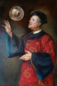 Matt Renaissance oil portrait img_7
