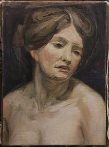 custom oil woman portrait img_8