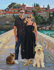 Shaun family oil portrait img_4