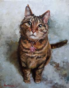 Alexandra Shearing + custom pet portrait img_4