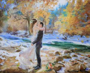 Jessi oil wedding portrait img_10