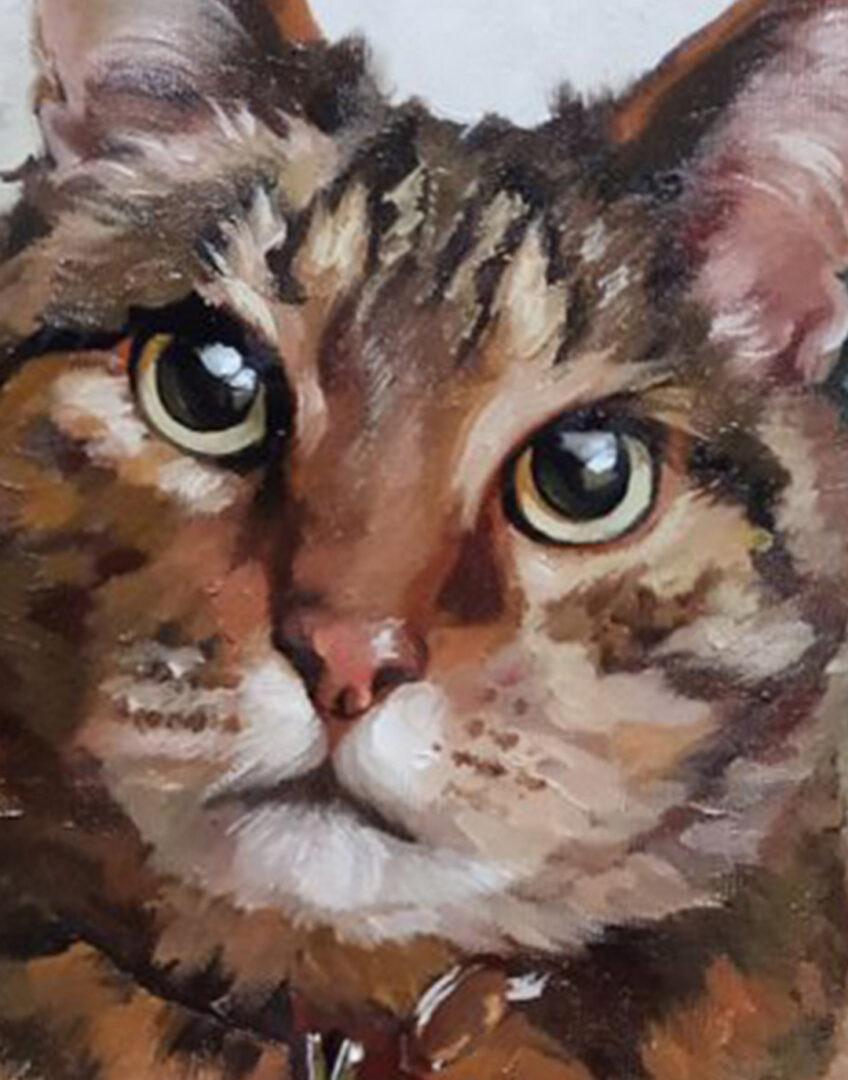 Alexandra Shearing + custom pet portrait img_1
