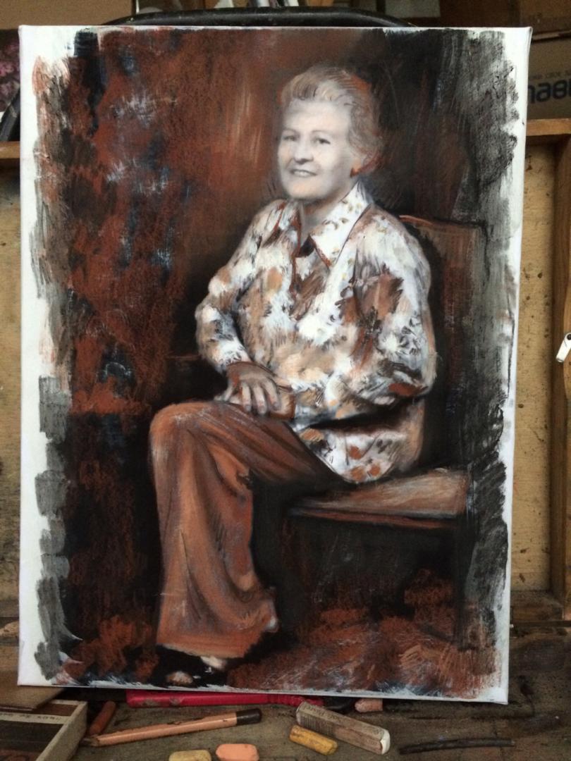 Brandie Garrett paintings from old photo img_12