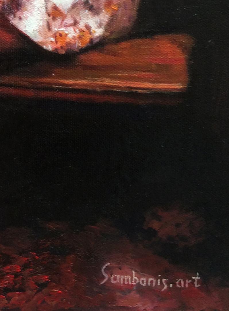 Brandie Garrett paintings from old photo img_4