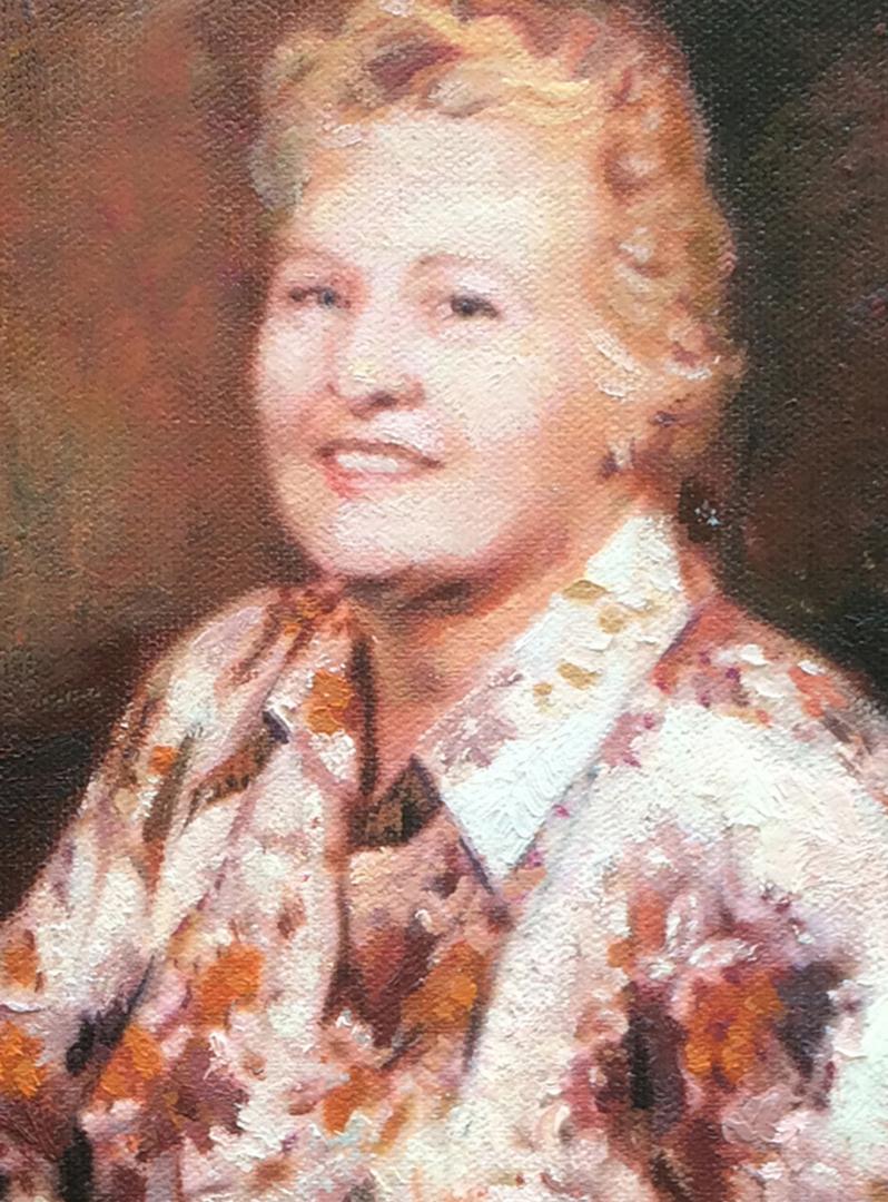 Brandie Garrett paintings from old photo img_5