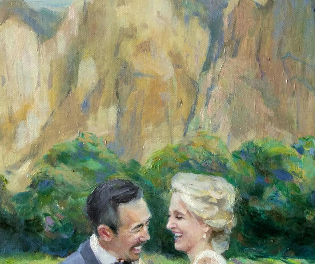 David oil wedding portrait img_3