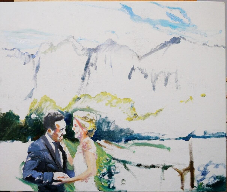 David oil wedding portrait img_7