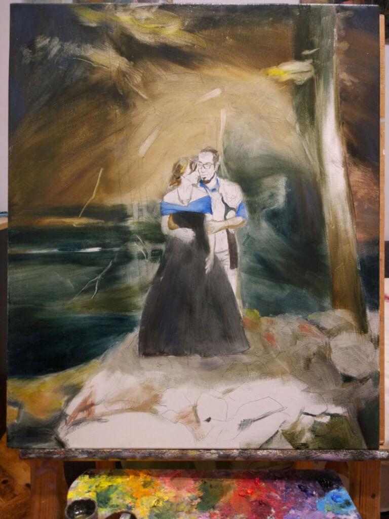 Elly oil wedding portrait img_11