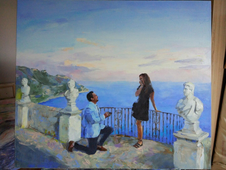 Italian love custom portrait img_3