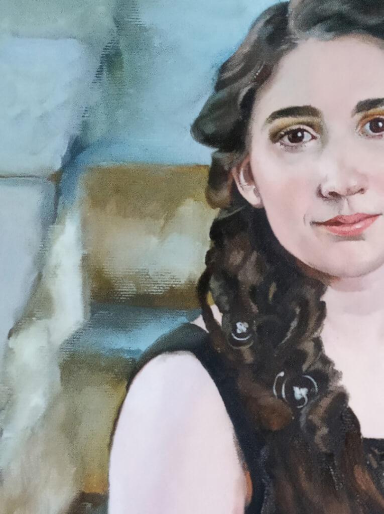 Jennifer S custom portrait from photo img_6