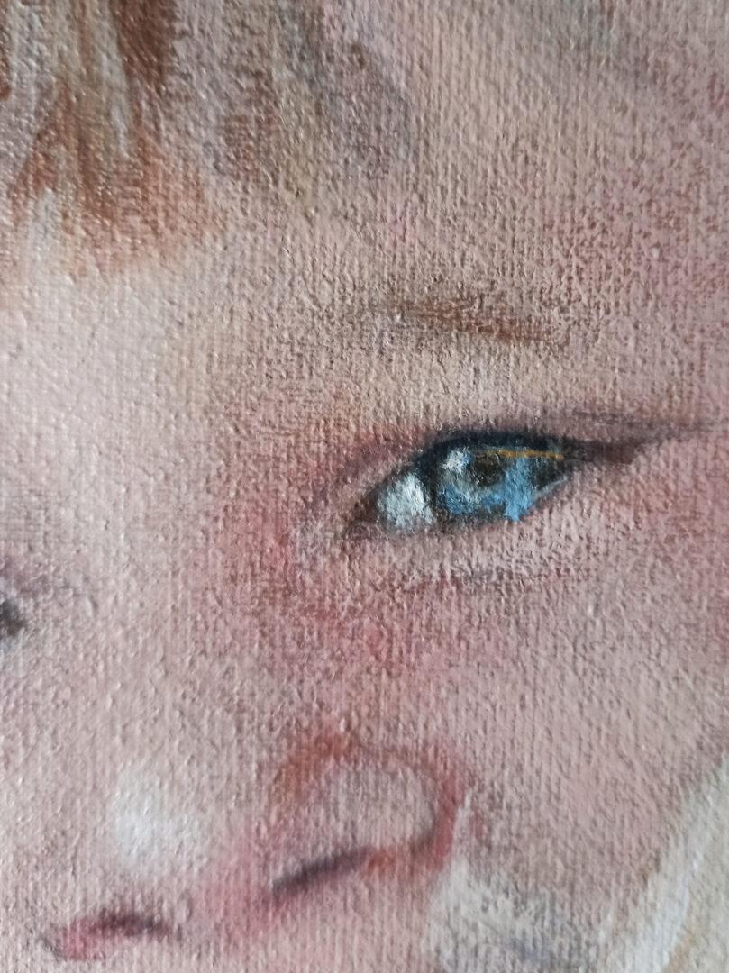 Jill Gilbert Custom kids oil portrait img_2