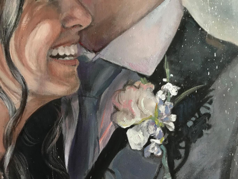 Joseph Schiazza oil wedding portrait img_3