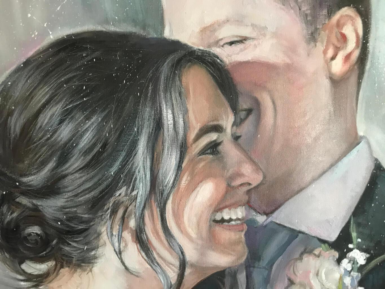 Joseph Schiazza oil wedding portrait img_5