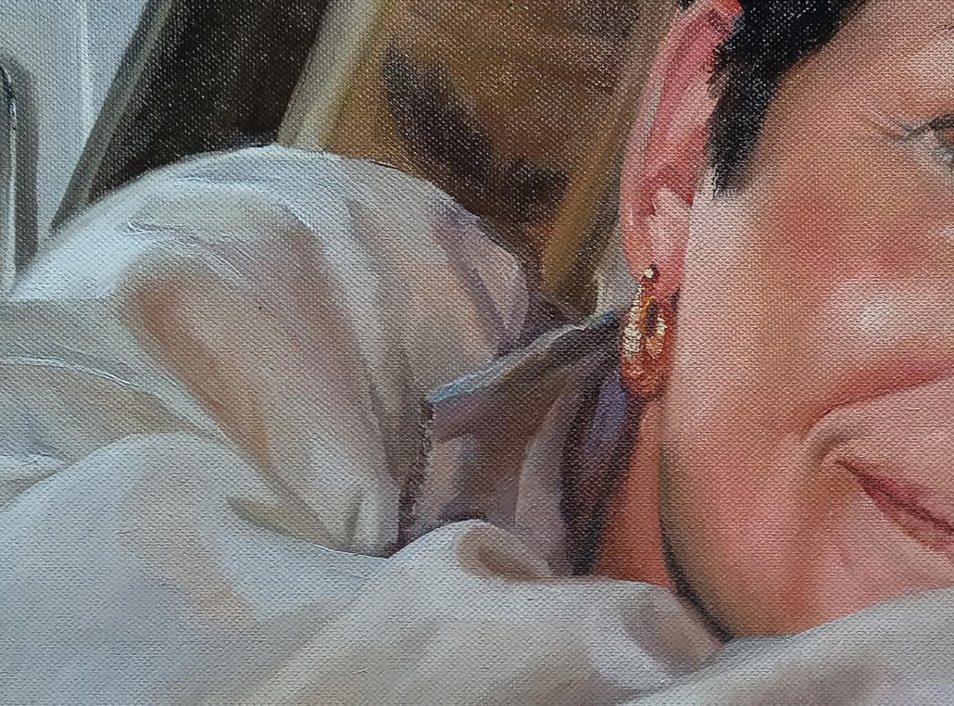 Lauren woman custom oil portrait img_3