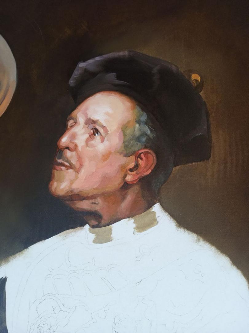 Matt Renaissance oil portrait img_10