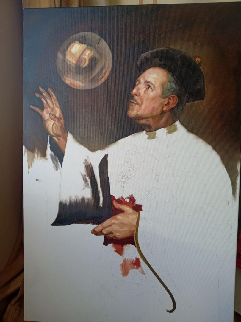 Matt Renaissance oil portrait img_9
