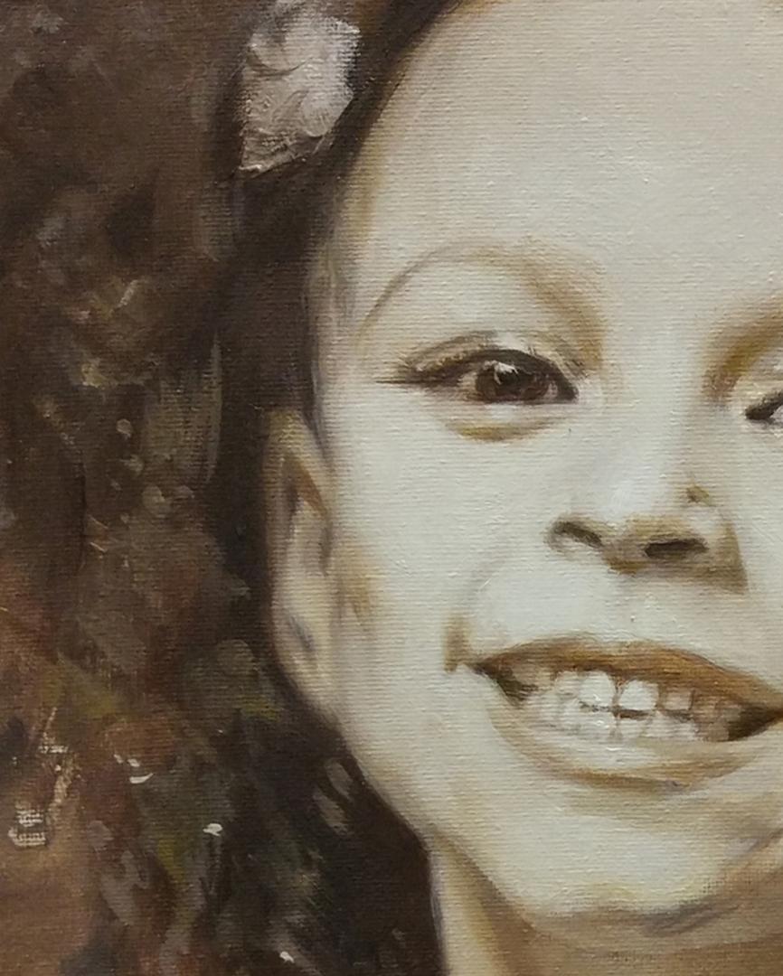 Michelle Smith + kids oil portrait img_1