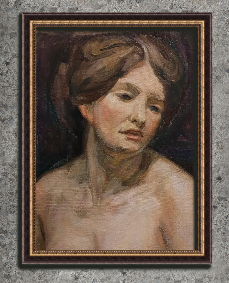 custom oil woman portrait img_1