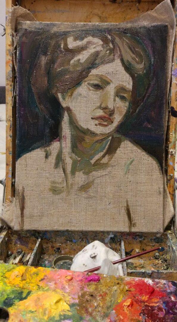 custom oil woman portrait img_2