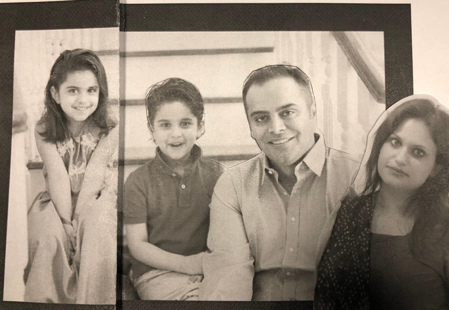 custom Big family portrait from photo img_5